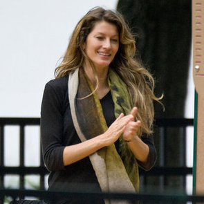 Gisele Bundchen and Ben Park Pictures in Boston