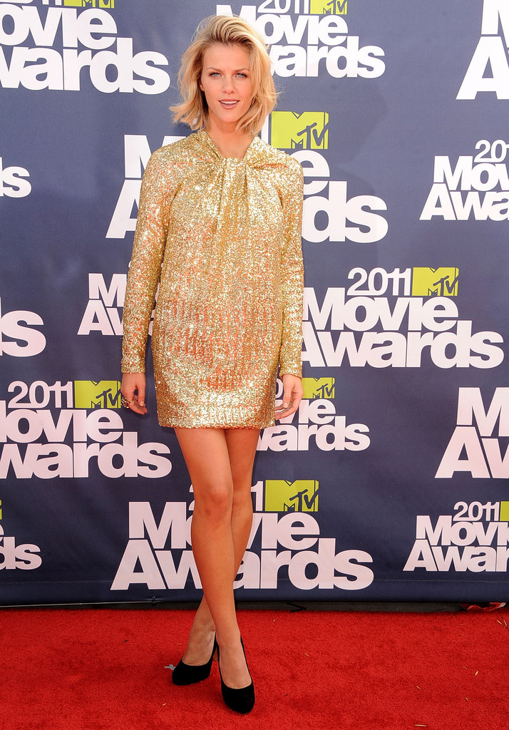 Brooklyn Decker sparkled on the red carpet of the 2011 awards.