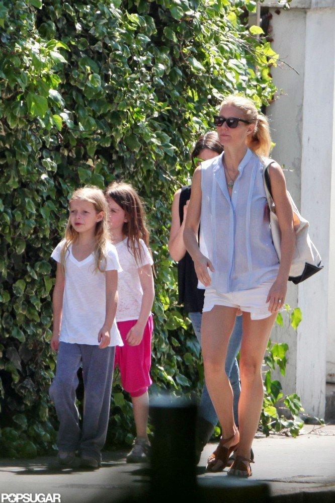 Gwyneth Paltrow and Apple took a stroll in London.