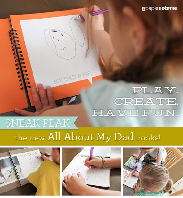 "Paper Coterie's ""All About My Dad"" ($24 and up)"