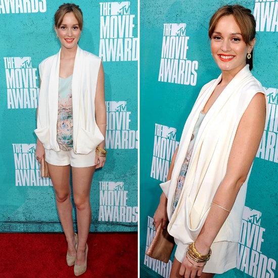 Leighton Meester at MTV Movie Awards 2012