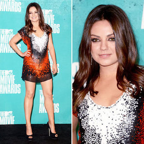Mila Kunis at MTV Movie Awards 2012
