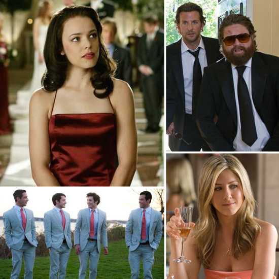 Weddings are about more than just the bride and groom — they're about the whole wedding party! Buzz rounded up the top wedding parties from film and TV.