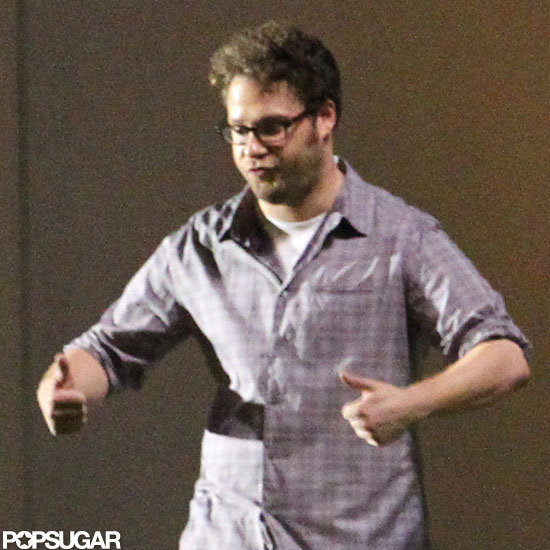 Seth Rogen got animated for his directorial debut, The End of the World, in New Orleans.
