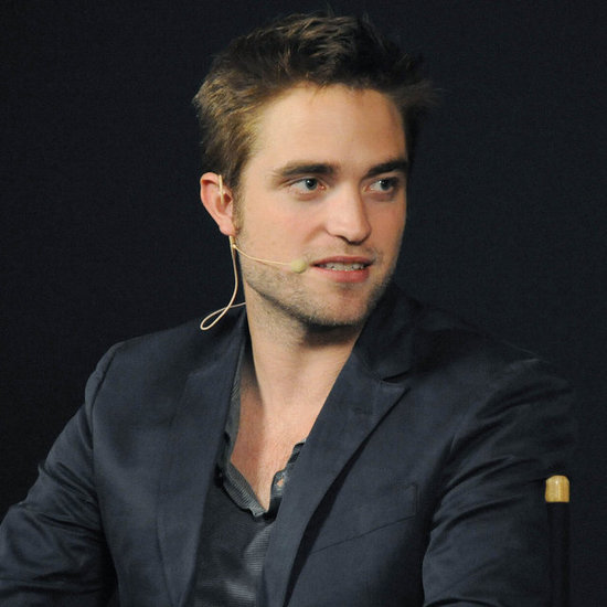Robert Pattinson in London Promoting Cosmopolis Pictures