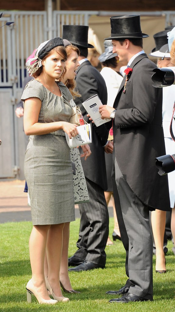 Princesses Eugenie and Beatrice of York spoke with Jake Warren.