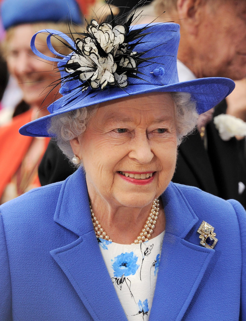 The queen looked good at her Diamond Jubilee Derby.