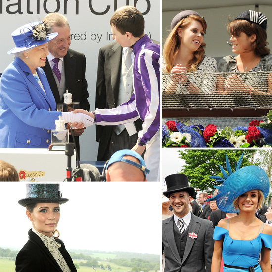 Stars and Royals Celebrate Queen Elizabeth At The Diamond Jubilee Derby