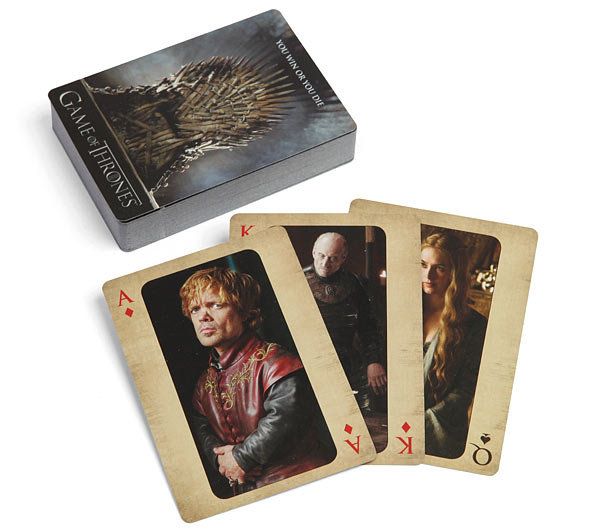Game of Thrones Playing Cards ($5)