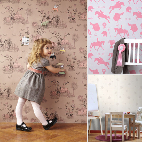 Roll It Baby! 9 Wallpaper Designs That Will Grow With Your Tot