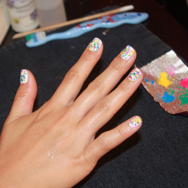 How To Create a Graffiti-Style Manicure At Home