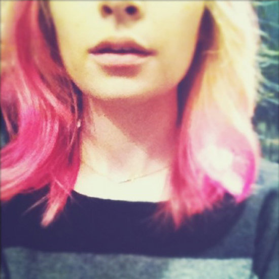 Nicole Richie With Pink Hair