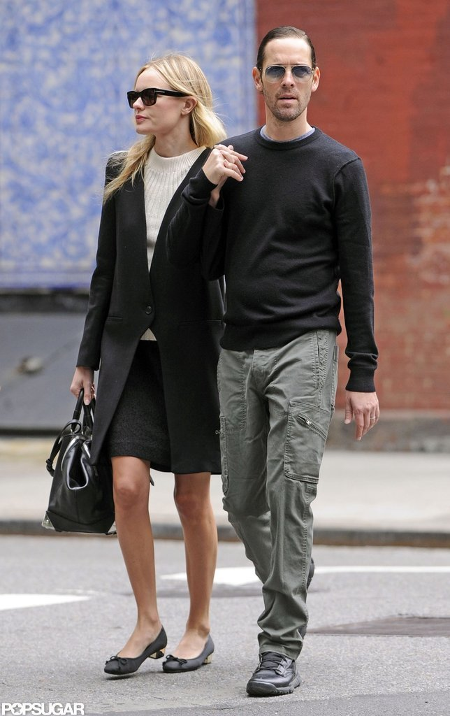 Kate Bosworth and boyfriend Michael Polish took a walk in the West Village in NYC.