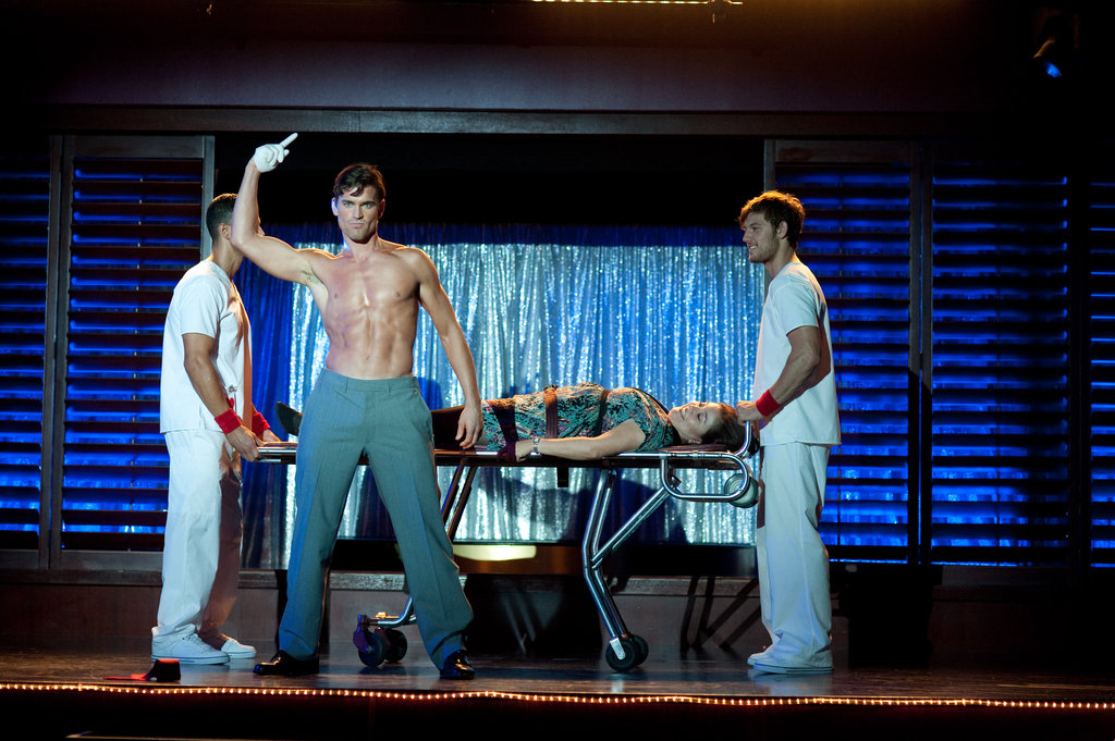 Matt Bomer and Alex Pettyfer in Magic Mike.