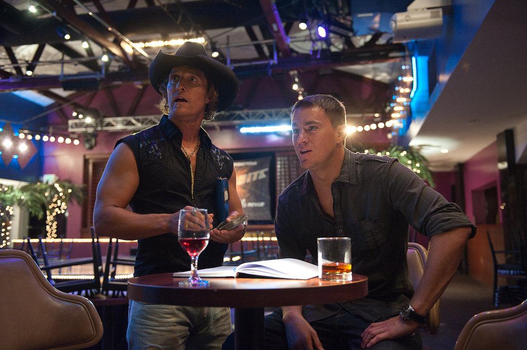 Channing Tatum and Matthew McConaughey in Magic Mike.