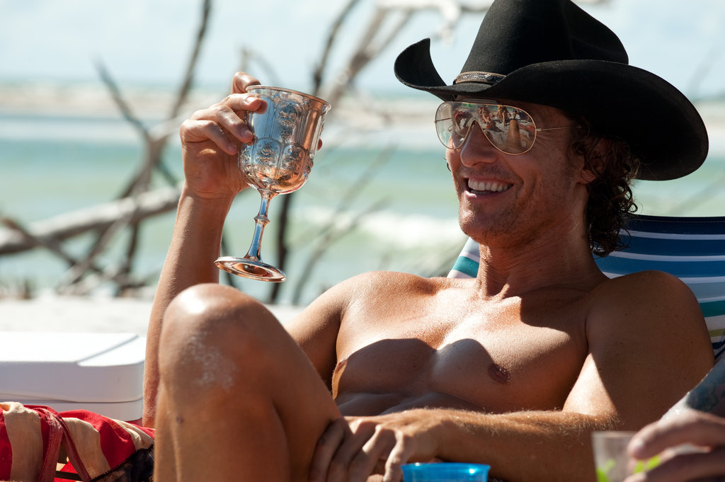 Matthew McConaughey in Magic Mike.