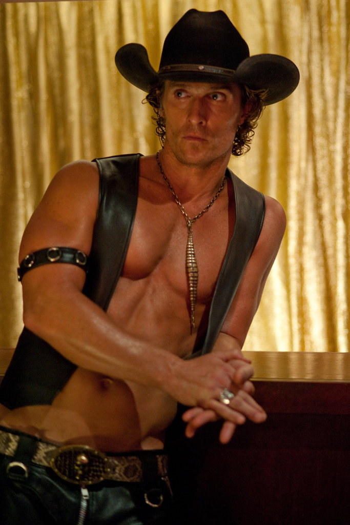Matthew McConaughey in Magic Mike.