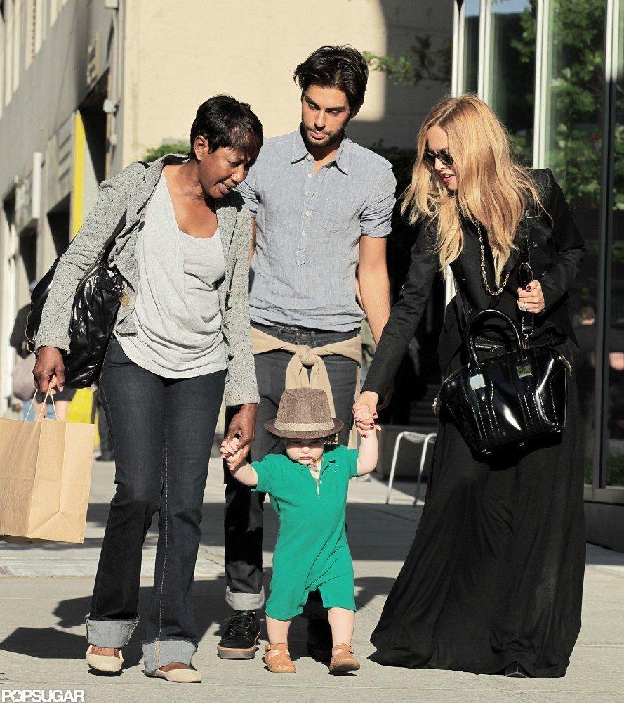 Rachel Zoe spent the day in SoHo with Skyler Berman and Joey Maalouf.