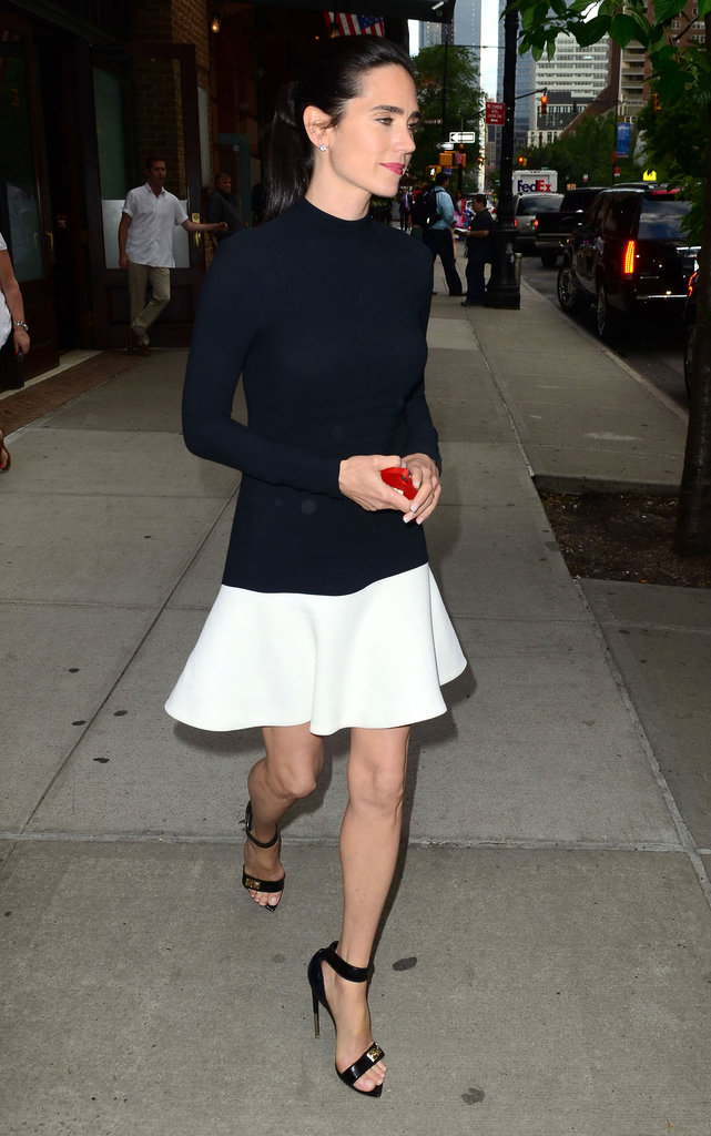 Jennifer Connelly wore strappy sandals.