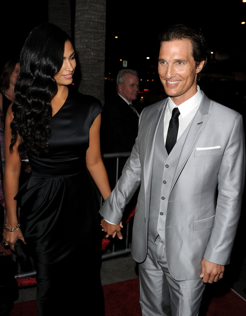 They stuck together at the March 2011 premiere of The Lincoln Lawyer in LA.