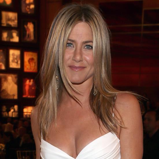 Jennifer Aniston in Burberry at AFI Life Achievement Awards