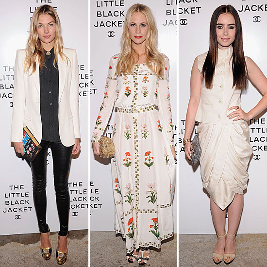Poppy, Karl, and more fete Chanel's Little Black Jacket book launch in style.