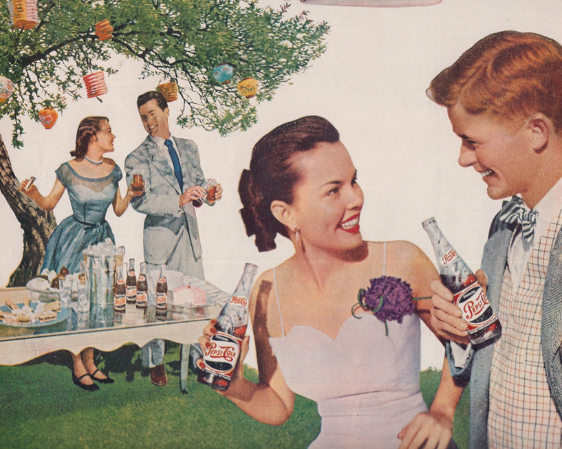 A Summer party isn't complete without a Coke!