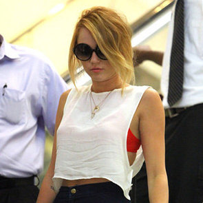 Miley Cyrus Engagement Ring Pictures in New Orleans