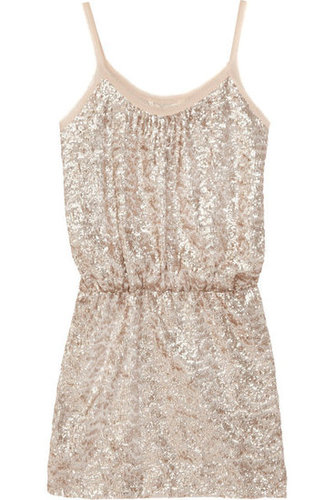 Rebecca Taylor | Sequined fine-knit mini dress | NET-A-PORTER.COM
