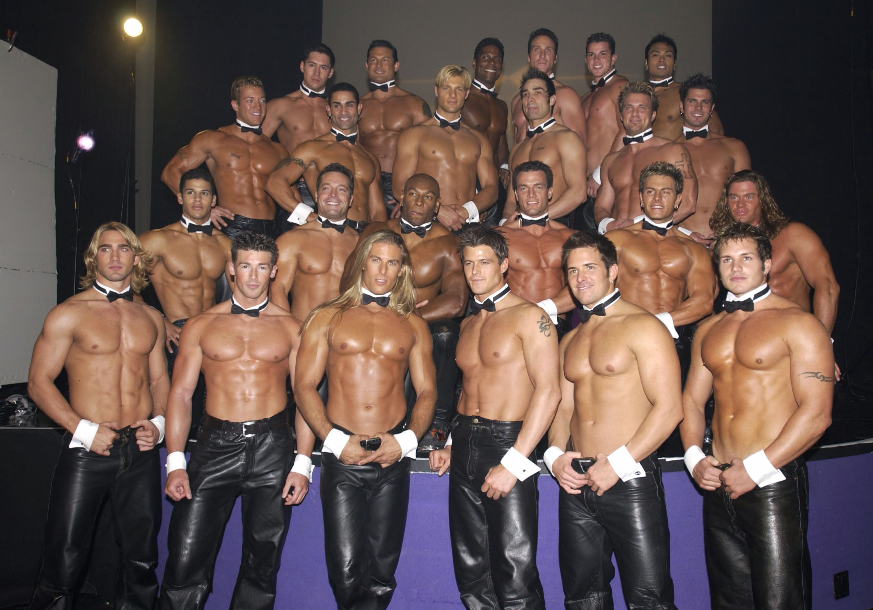 image chippendales first all male stripping group make