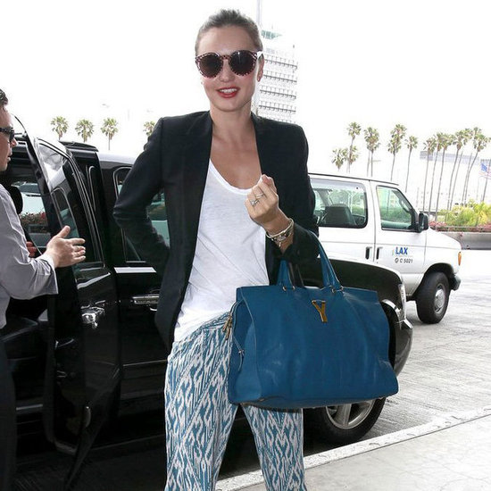 Miranda Kerr Catching a Flight at LAX Pictures