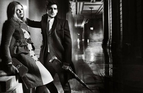 We love the classic noir vibe of Burberry's Fall 2012 campaign.