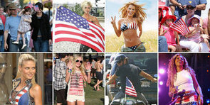 Stars Show Off Their American Pride For Fourth of July