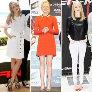 See Emma Stone's Stunning Red Carpet Style For The Amazing Spider-Man