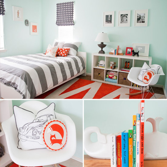 Modern Shared Boy Room: Modern Little Boy's Room
