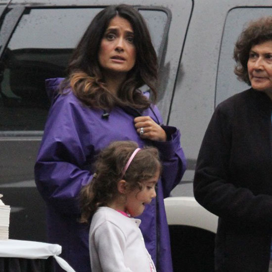 Salma Hayek Grown Ups 2 Pictures With Valentina Pinault