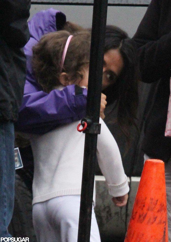 Salma Hayek kissed daughter Valentina Pinault.