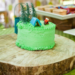 Camping First Birthday Party