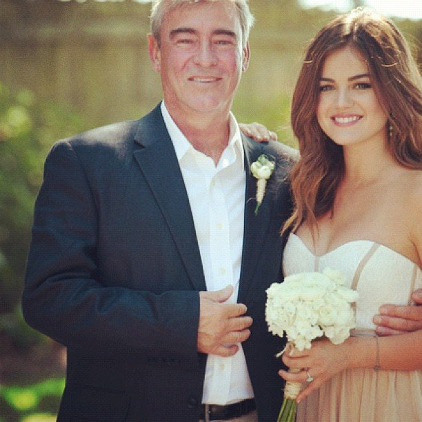 "Lucy Hale shared a photo and message, ""I love you daddy"" on her Instagram. Source: Instagram User lucyhale89"