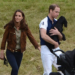Kate Middleton and Prince William Pictures With Puppy Lupo at Polo Match