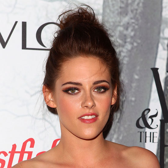 Kristen Stewart's Smoky, Winged-Out Eye Makeup
