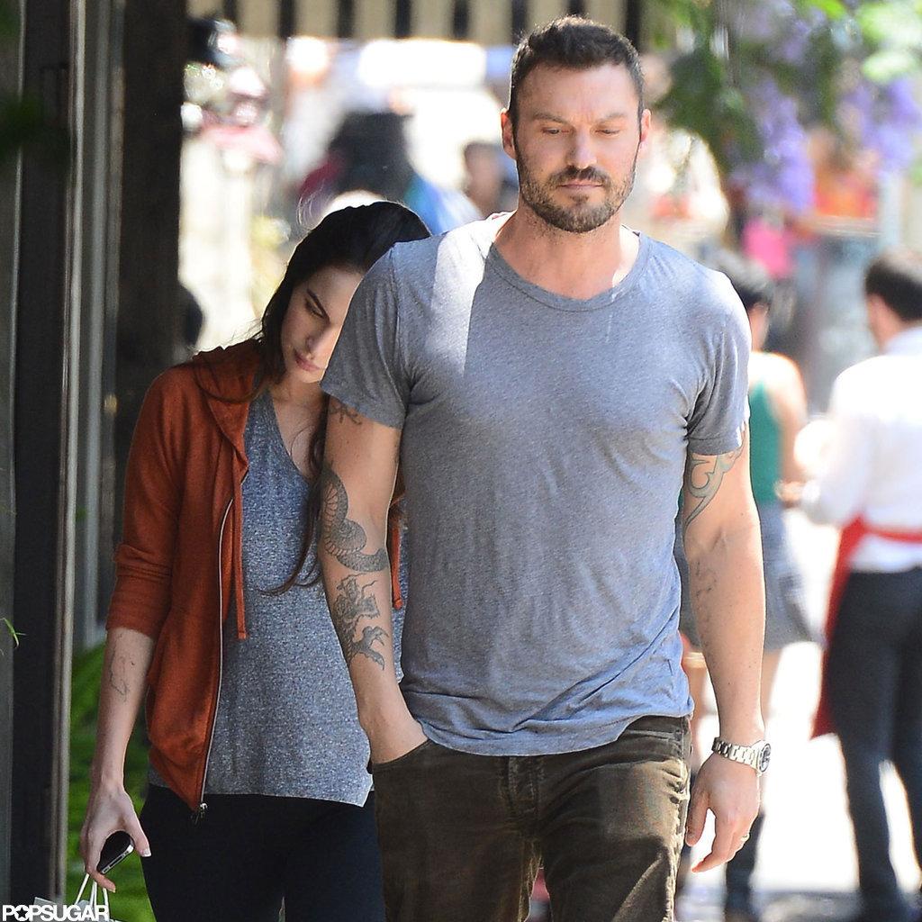 Megan Fox and Brian Austin Green grabbed lunch in Los Feliz.
