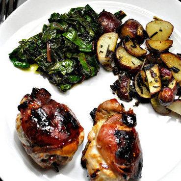 Prosciutto and Fig Chicken