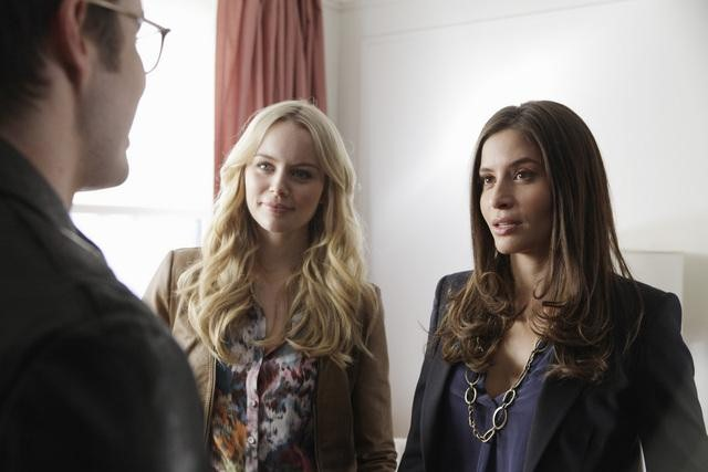 Helena Mattson and Mercedes Masohn on 666 Park Avenue.