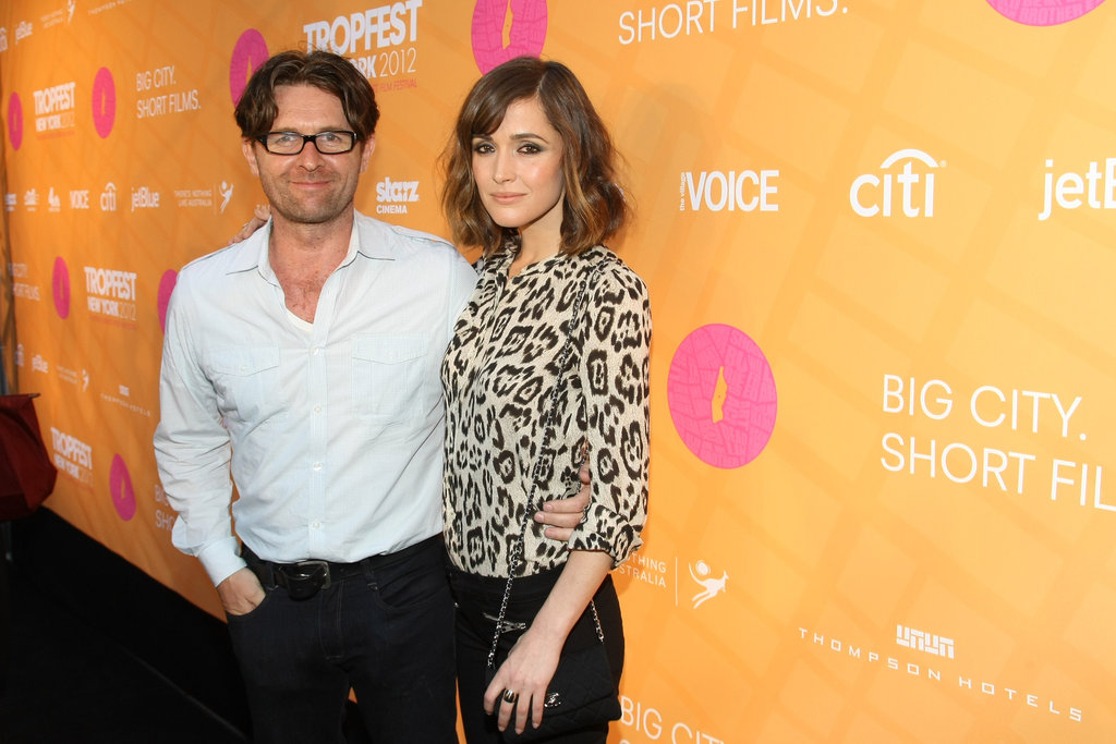 John Polson and Rose Byrne