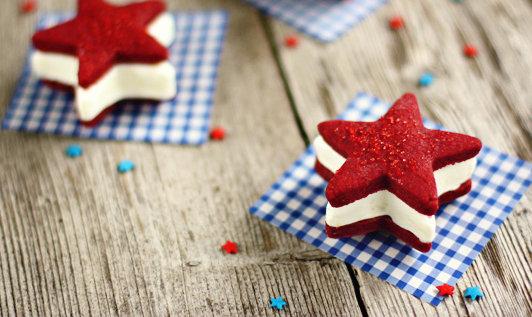 Bake This: Red Velvet Ice Cream Sandwiches