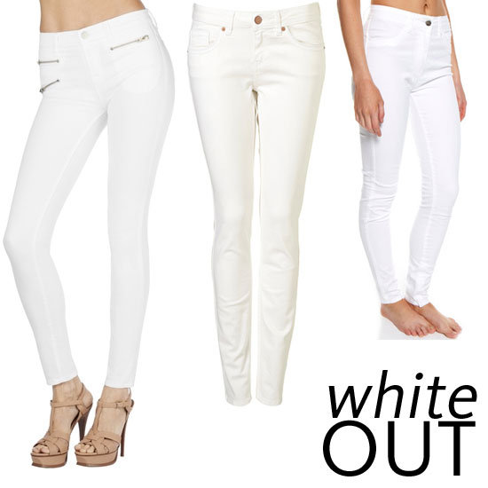 cheap white jeans - Jean Yu Beauty