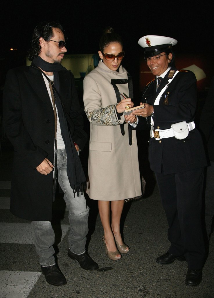 Jennifer Lopez and Marc Anthony attended the nuptials.