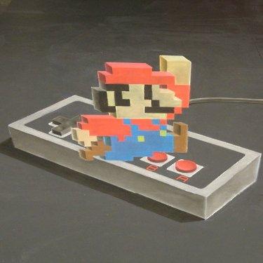 Super Mario 3D Art (Video)