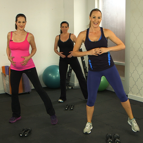 10-Minute Prenatal Workout Routine From Heidi Klum's Trainer